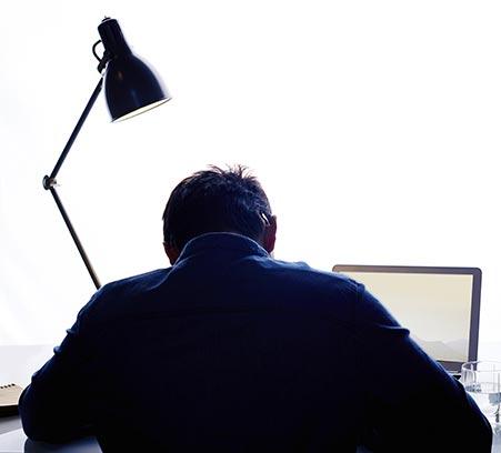Schrijfproces halverwege