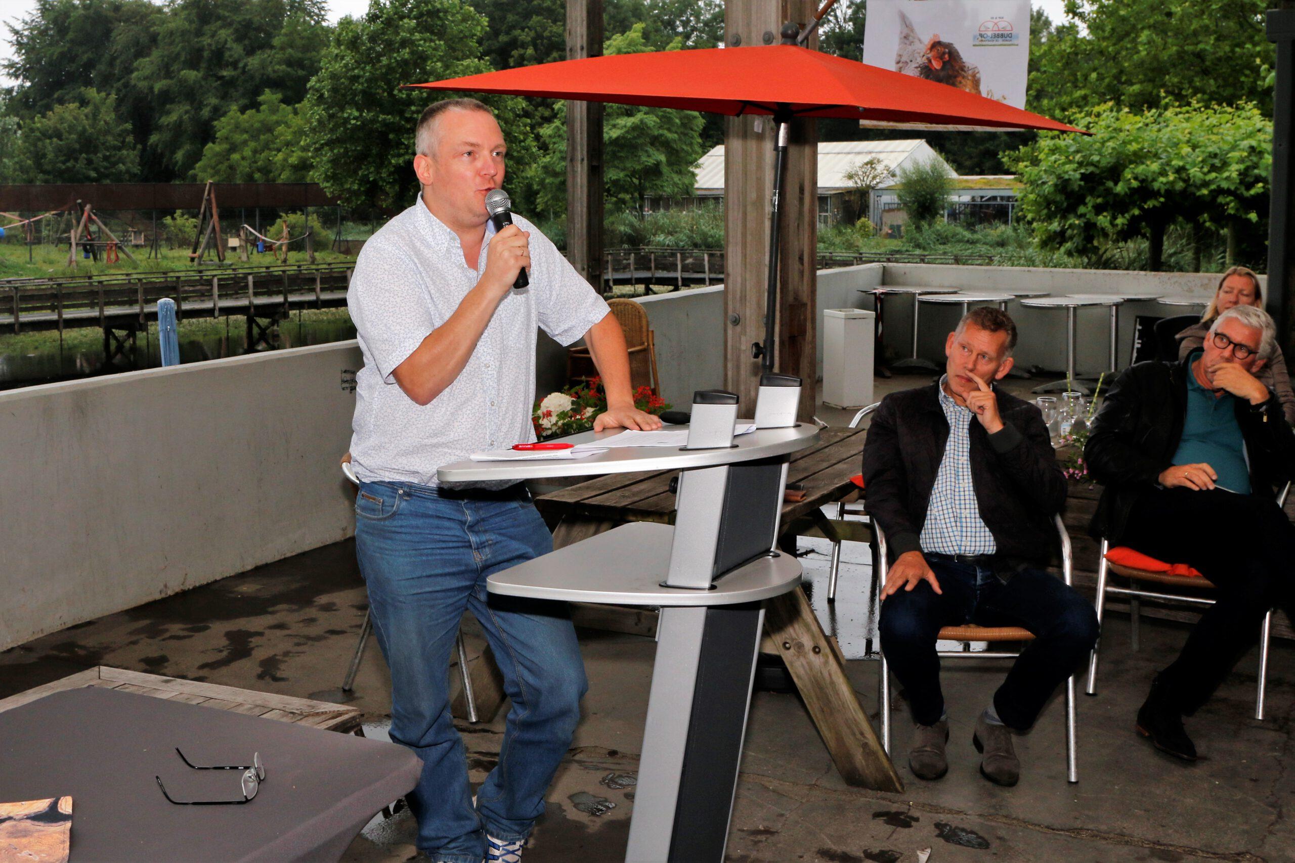 Uitgever Jacco van den Boogaart van ISJB Uitgevers bij wie Gouden Bergen is verschenen